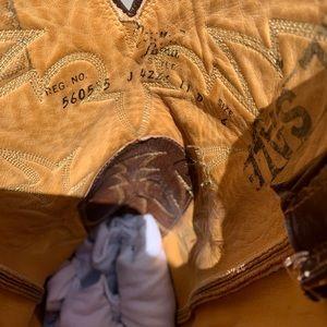 Tony Lama Shoes - 11d Vintage Tony Lama Teju lizard boots